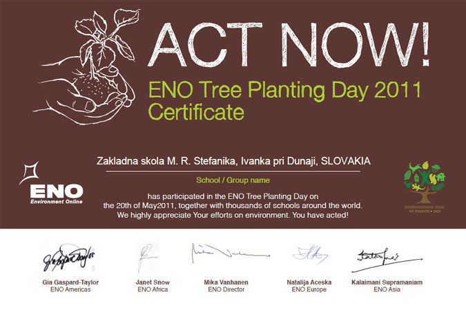 Medzinárodný deň sadenia stromov