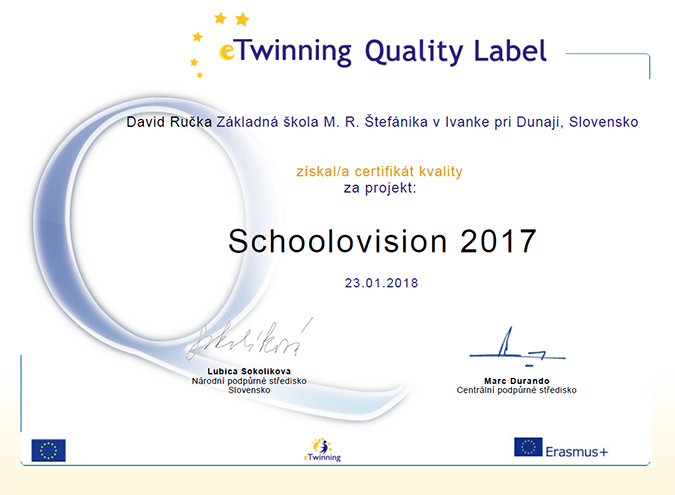 Schoolovision 2017